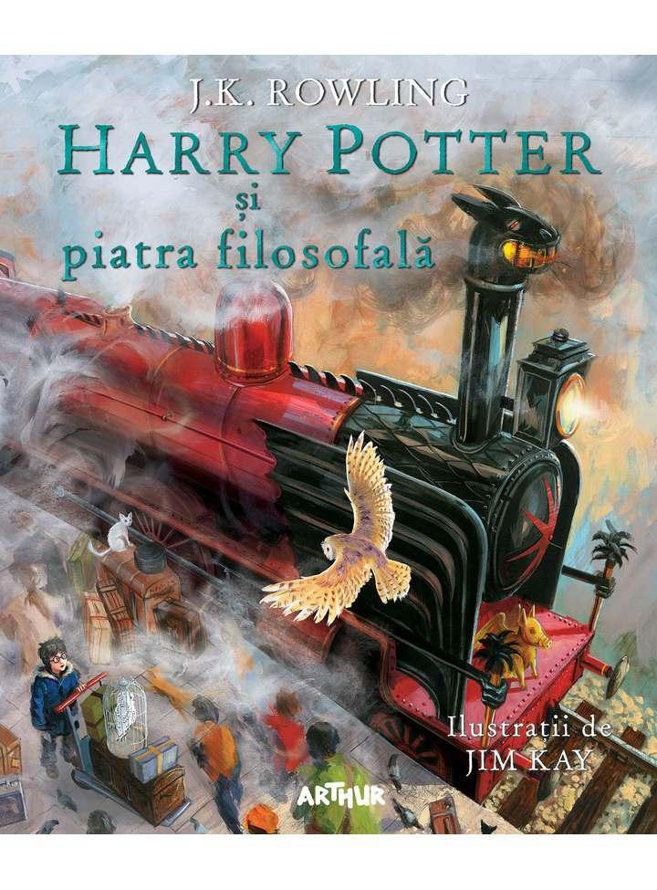 Harry Potter si Piatra Filosofala-ed-ilustrata