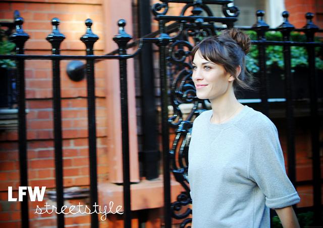 London Fashion Week Streetstyle – Mulberry