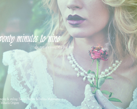 Twenty minutes to nine