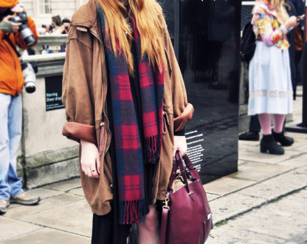 LFW Streetsyle – Kayleigh at Somerset House