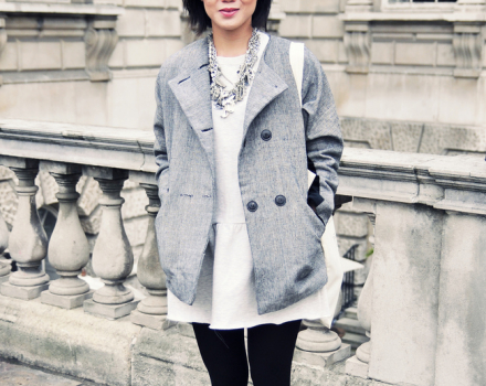 LFW Streetstyle: The statement necklace