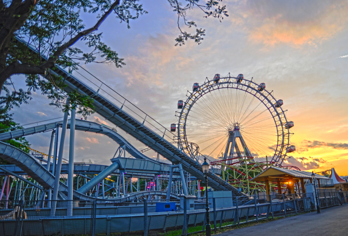 Places to visit in Vienna: Prater