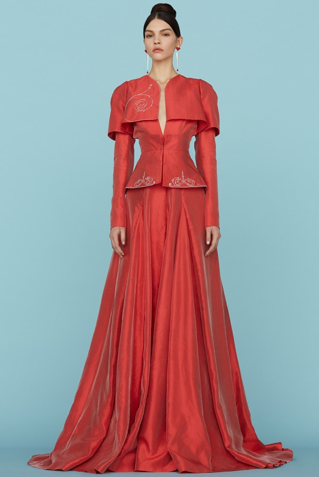 Ulyana sergeenko haute couture spring 2015 the for Haute couture today